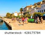 sibenik  croatia   aug 26  2014 ... | Shutterstock . vector #428175784