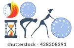 flat design vector illustration ...   Shutterstock .eps vector #428208391