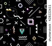 geometric seamless pattern.... | Shutterstock .eps vector #428222611
