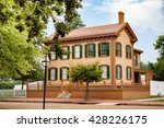abraham lincoln's house in... | Shutterstock . vector #428226175