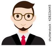 user avatar businessman | Shutterstock .eps vector #428226445