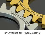 manufacturing technology... | Shutterstock . vector #428233849