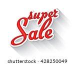 big sale inscription ...   Shutterstock .eps vector #428250049