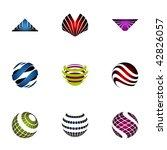 design elements   set 94 | Shutterstock .eps vector #42826057