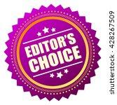 editors choice icon vector... | Shutterstock .eps vector #428267509