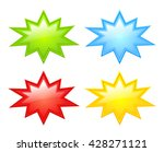 color stars icon vector... | Shutterstock .eps vector #428271121