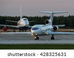 moscow region  domodedovo ... | Shutterstock . vector #428325631