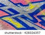 beautiful street art of... | Shutterstock . vector #428326357