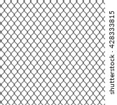seamless detailed chain link... | Shutterstock .eps vector #428333815