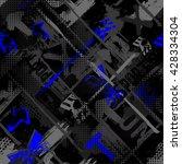 abstract seamless grunge...   Shutterstock .eps vector #428334304