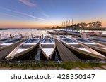 Rental Boats In A Marina At...