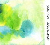 abstract watercolor hand... | Shutterstock . vector #42837046