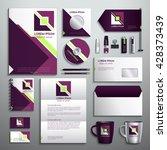 realistic vector. classic... | Shutterstock .eps vector #428373439