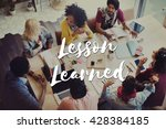 Small photo of Lesson Learned Educate Learn Knowledge Education Learning Concept