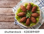 Arabic Cuisine  Meat Appetizer...