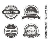 vintage label template | Shutterstock .eps vector #428395501