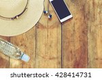 top view image of summer... | Shutterstock . vector #428414731