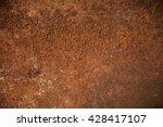 old metal iron rust texture | Shutterstock . vector #428417107