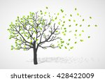 abstract nature background.... | Shutterstock .eps vector #428422009