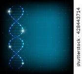 science template  wallpaper or... | Shutterstock .eps vector #428443714