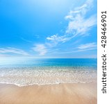 beach and tropical sea | Shutterstock . vector #428466901