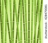 green bamboo vector...