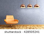 Modern Interior Of Living Room...