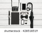 flat lay photography of... | Shutterstock . vector #428518519