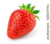 strawberry isolated on white... | Shutterstock . vector #428519701