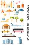 summer set | Shutterstock .eps vector #428520229