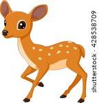 mouse deer cartoon illustration | Shutterstock .eps vector #428538709