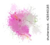 colorful watercolor background. ... | Shutterstock .eps vector #428540185