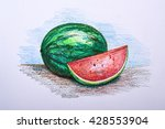 Drawing Fruit With Colour...