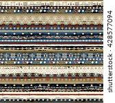 ethnic boho seamless pattern.... | Shutterstock .eps vector #428577094