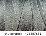 gray thread as a background | Shutterstock . vector #428587681