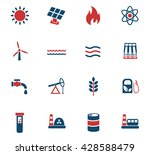 fuel and power web icons for... | Shutterstock .eps vector #428588479