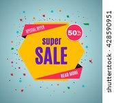 sale banner. | Shutterstock .eps vector #428590951
