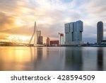 Rotterdam Skyline With...