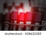 tubes of blood sample for... | Shutterstock . vector #428632285