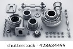 sorted turbocharger of car... | Shutterstock . vector #428634499