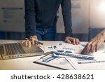 women working hard in the...   Shutterstock . vector #428638621