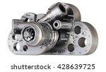 concept. steel cloud... | Shutterstock . vector #428639725