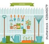 concept of gardening. garden... | Shutterstock .eps vector #428640079