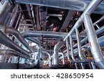 equipment  cables and piping as ... | Shutterstock . vector #428650954