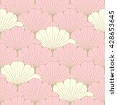 a japanese style seamless tile... | Shutterstock .eps vector #428653645