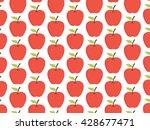 apple background pattern