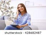 financial concept. make money... | Shutterstock . vector #428682487