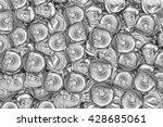 recycle aluminum  metal to... | Shutterstock . vector #428685061