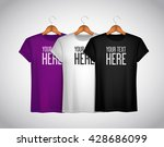 men t shirt composition.... | Shutterstock .eps vector #428686099