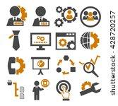system  user  administrator... | Shutterstock .eps vector #428720257